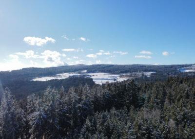 Drone Services Foto und Videoaufnahmen Winter